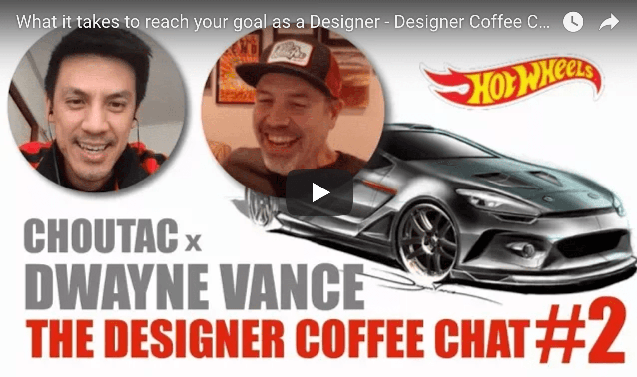 What it takes to become a Designer: The Designer Coffee Chat #2 with Dwayne Vance
