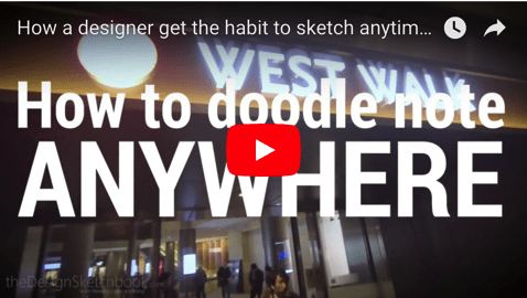 No time for sketching? How designers draw anywhere!