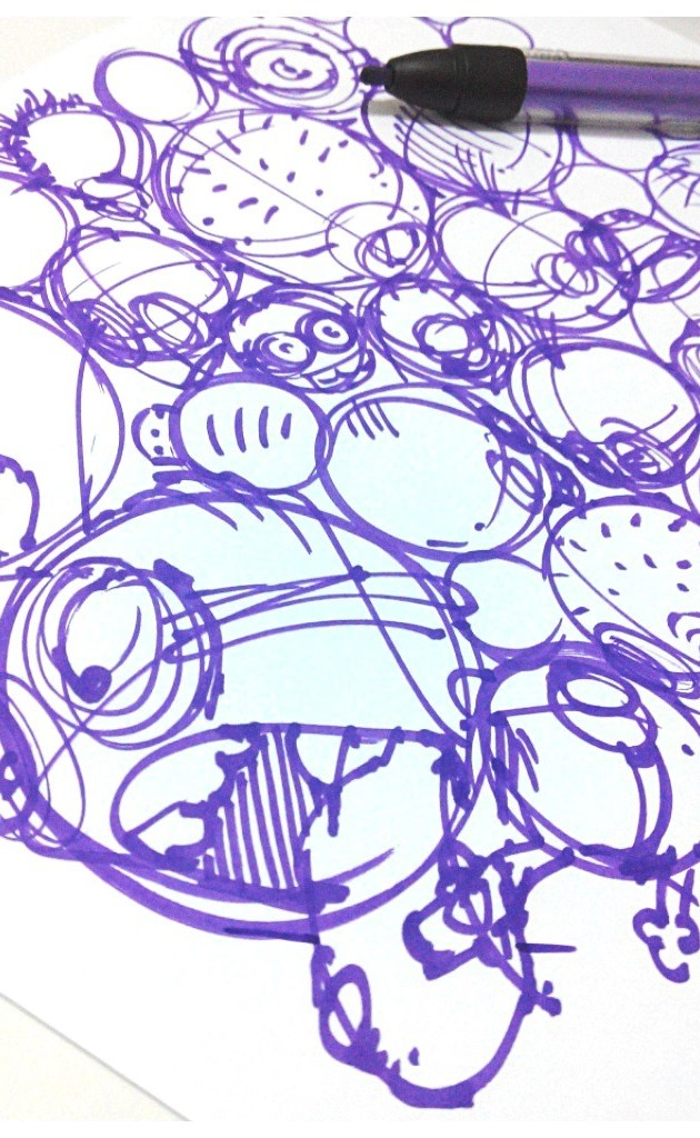 Minions-despicableme-sketch-theDesignsketchbookc