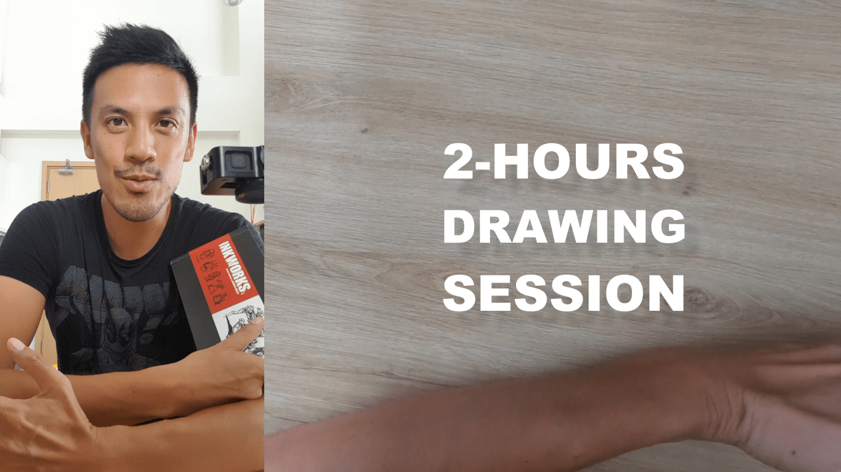 Drawing with ARTBOOKS CHALLENGE #1 : Artbook by Darren Quach : Concept art a