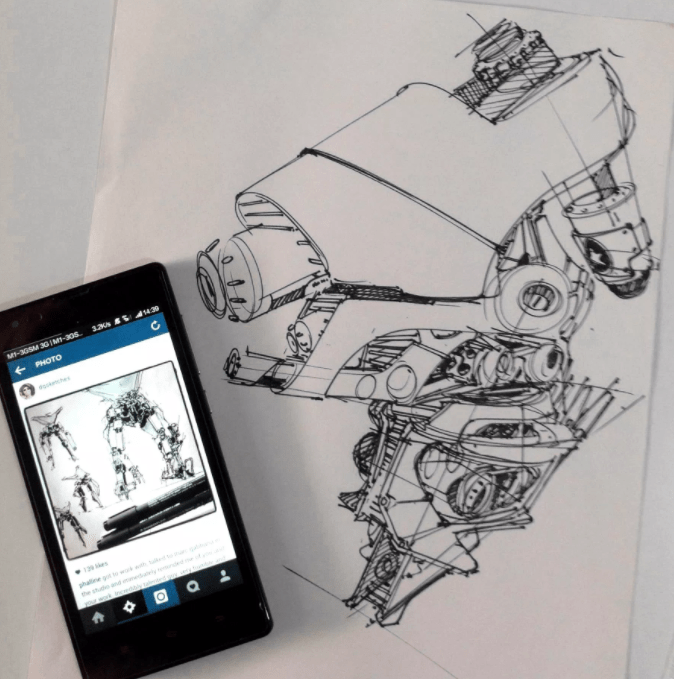 concept art darren quach x the design sketchbook chou tac chung