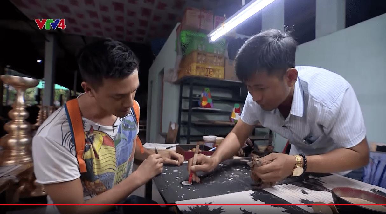 Vietnam discovery VTV4 Binh Duong province Chou-Tac the design sketchbook travel sketchbook gfd