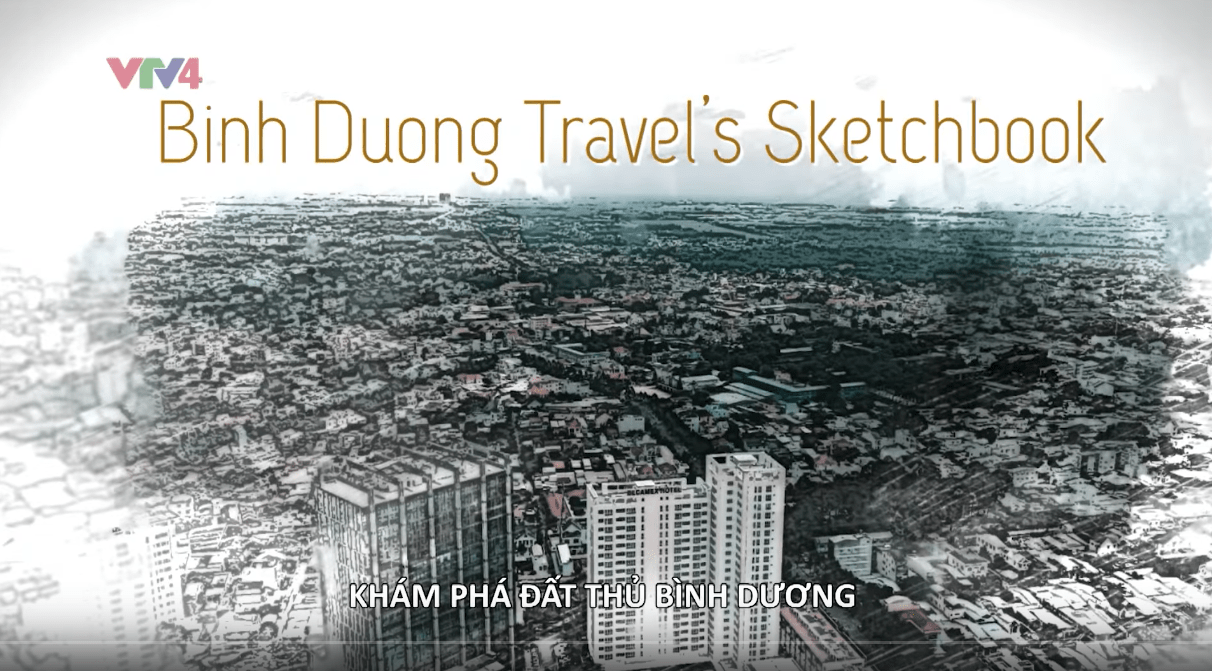 Vietnam discovery VTV4 Binh Duong province Chou-Tac the design sketchbook travel sketchbook m
