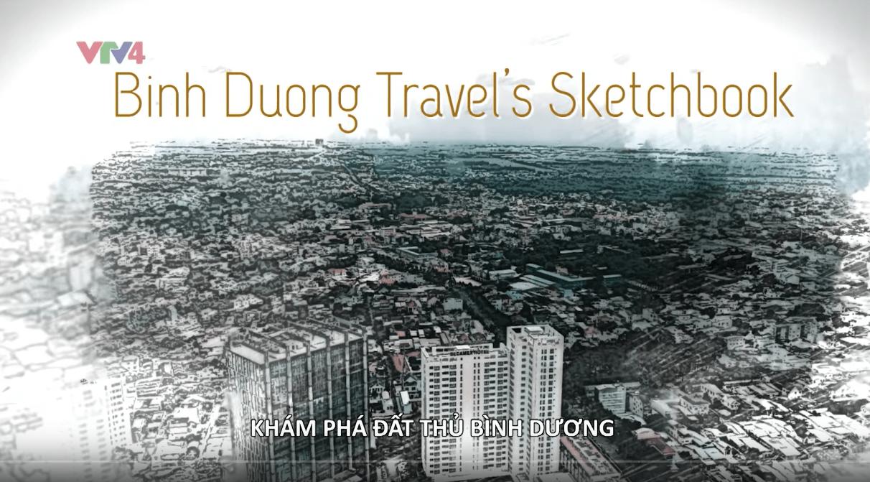 Vietnam discovery VTV4 Binh Duong province Chou-Tac the design sketchbook travel sketchbook m