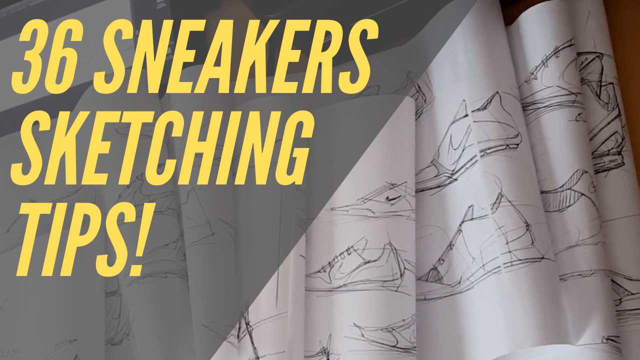 36 sketching TIPS revealed from the 7 meter Sneakers Sketch Challenge thumbnail