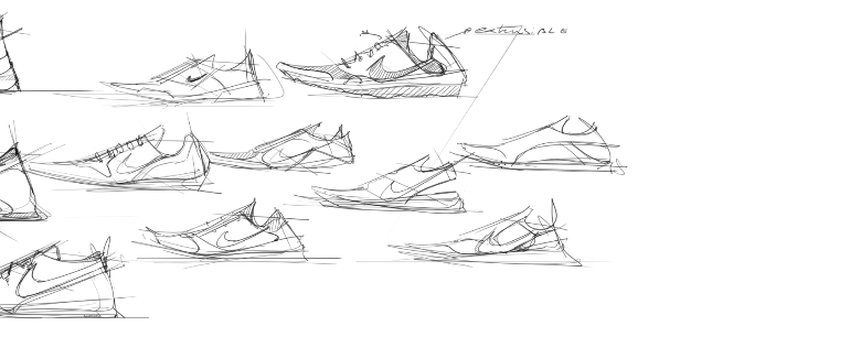 sneaker design Sketching Tip 19 Draw with thumbnails to be more creative.png