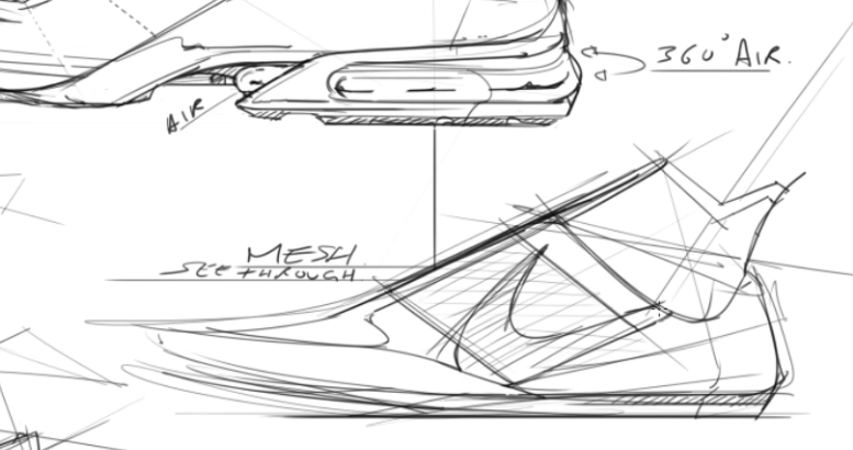 sneaker design Sketching Tip 35 Underline your notes.png
