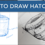 How to draw hatching and rise your Speed of sketching / TIP 235
