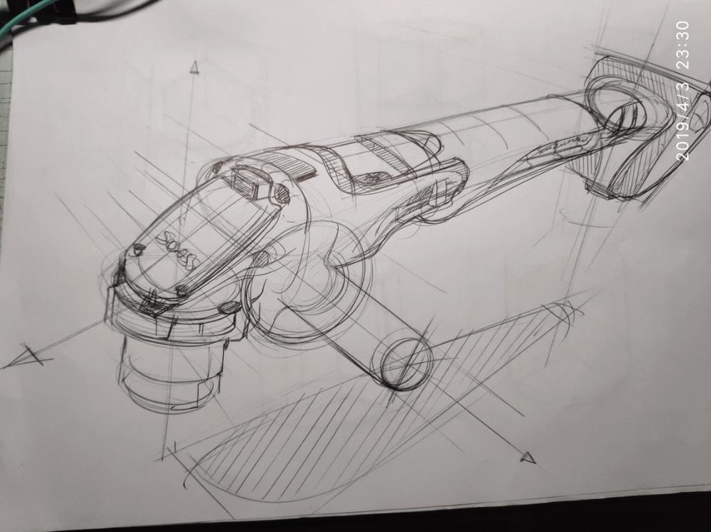 Johson sketch from Sketch Like The Pros VIP Member The Design Sketchbook Chou-Tac