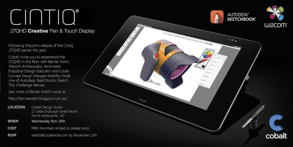 Wacom tablet 27HD Sketchbook pro drawing design product industrial.png