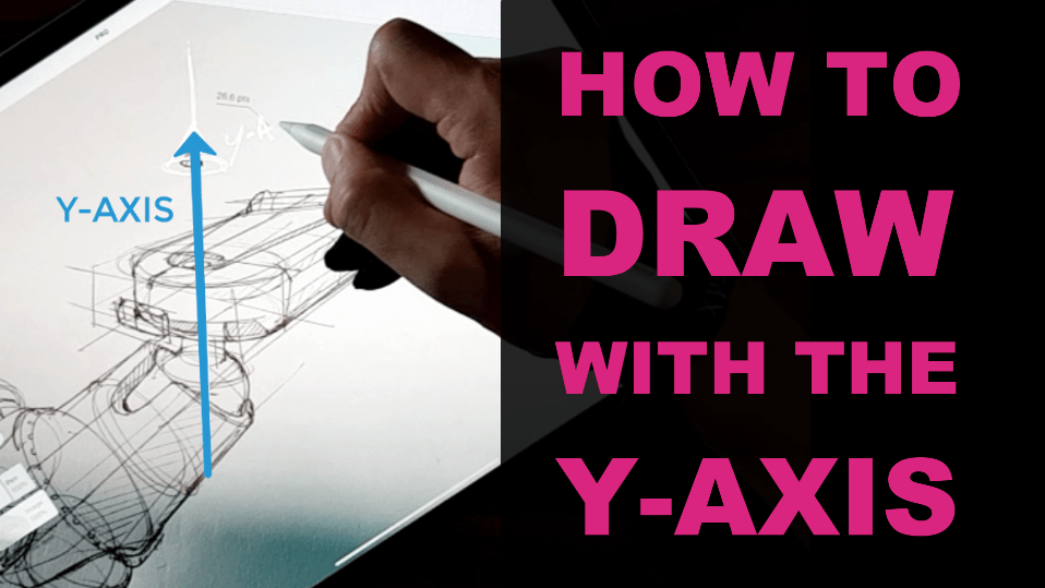 Sketch better (and faster) your product design in perspective using the Y-axis / TIP 255