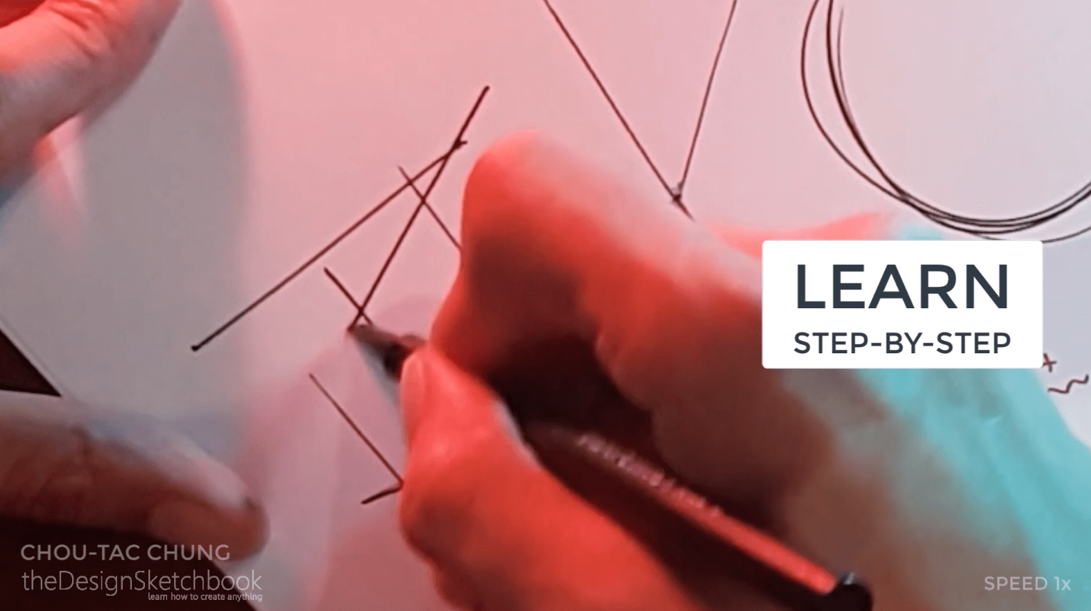How to draw the 3 basic forms of design sketching cube sphere cylinder j