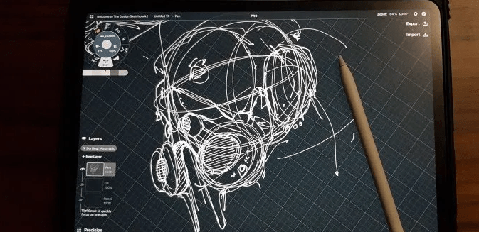 gaz mask chung chou tac concepts on ipad pro the design sketchbook.png