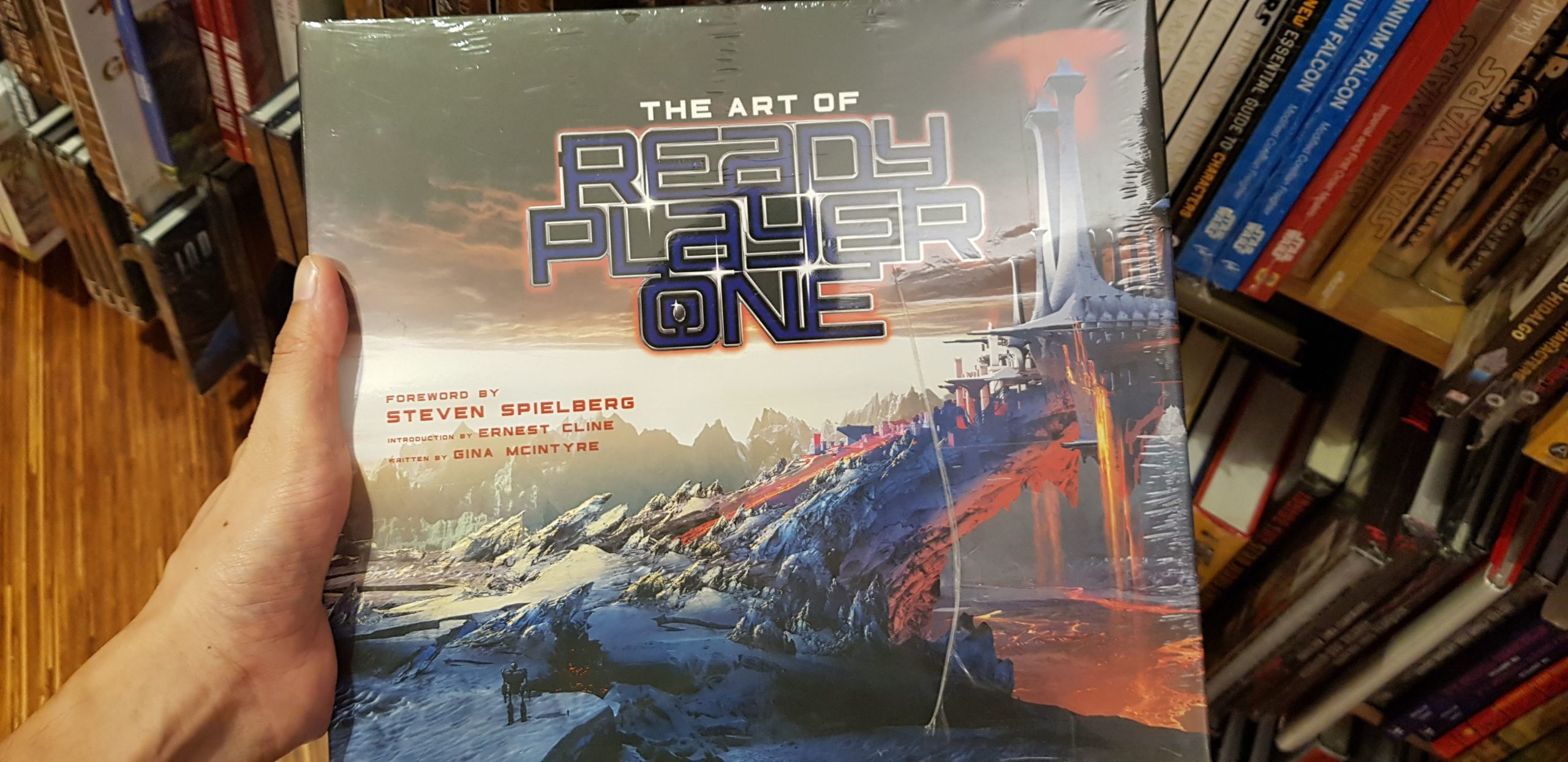 The art of Ready Player one book inspiration for industrial product design sketching