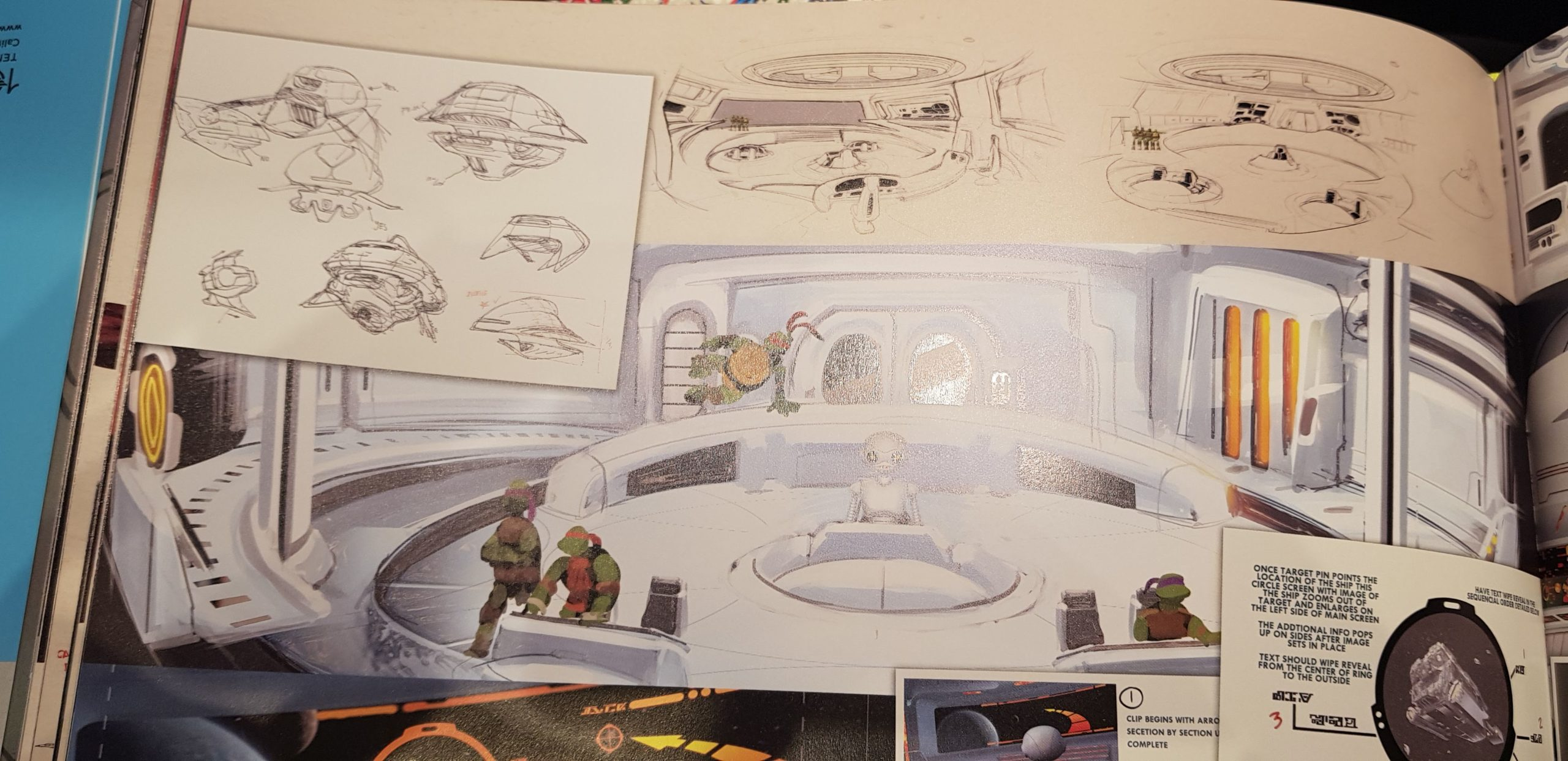 The art of ninja turtle sketch environment book inspiration for industrial product design sketching
