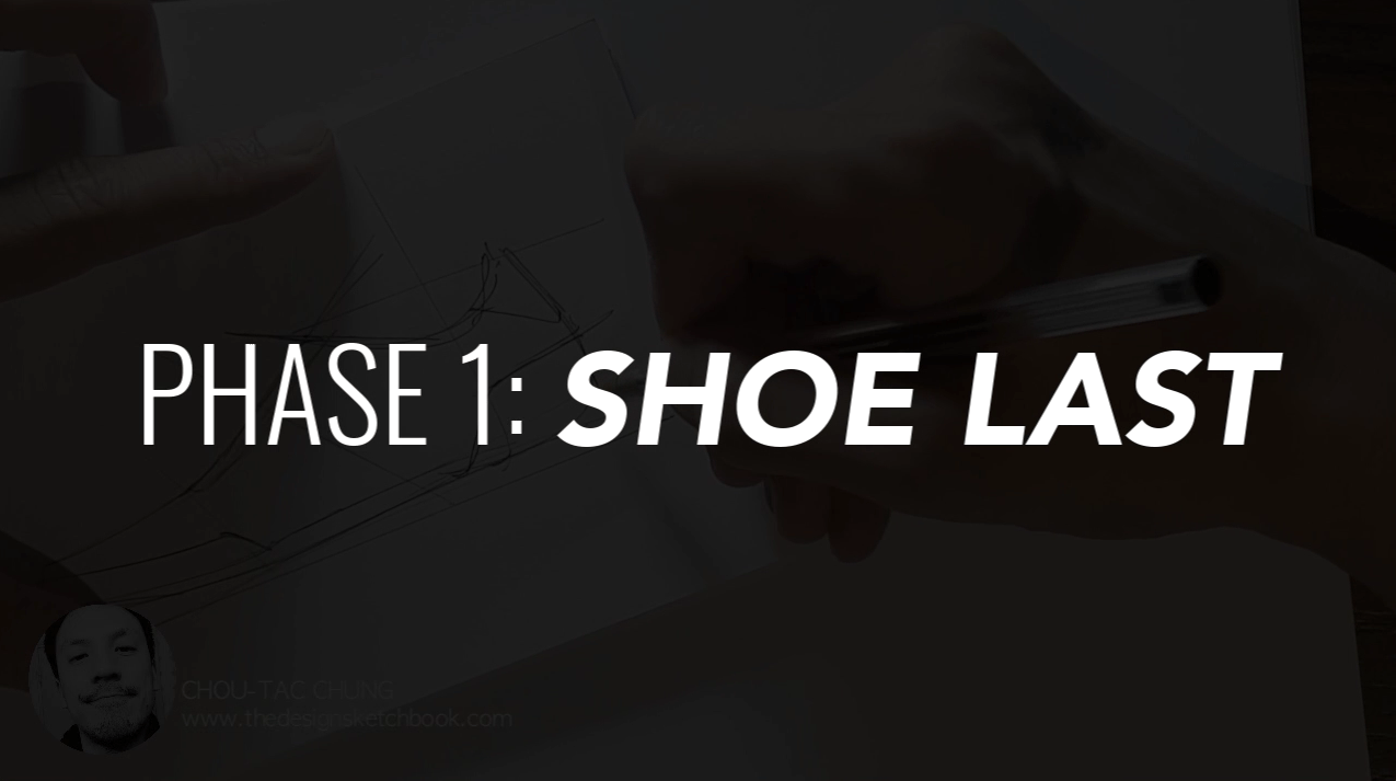 Draw your Sneaker design with a Dynamic style! with your ball point pen - The Design Sketchbook - Design sketching tutorial - Chung Chou-Tac i