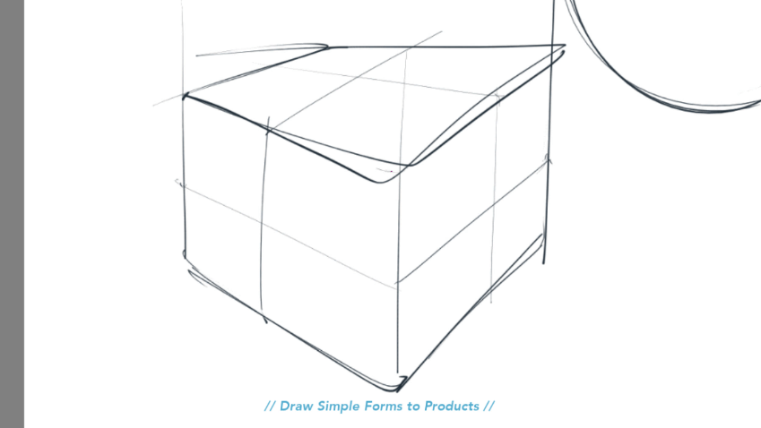 Draw these 3 Simple Forms to Products - Product design sketching - Industrial design video tutorial The Design Sketchbook Chou-Tac Chung d