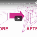 Level up your design sketches in 3D with this fun 2-point perspective exercise! | TIP 201