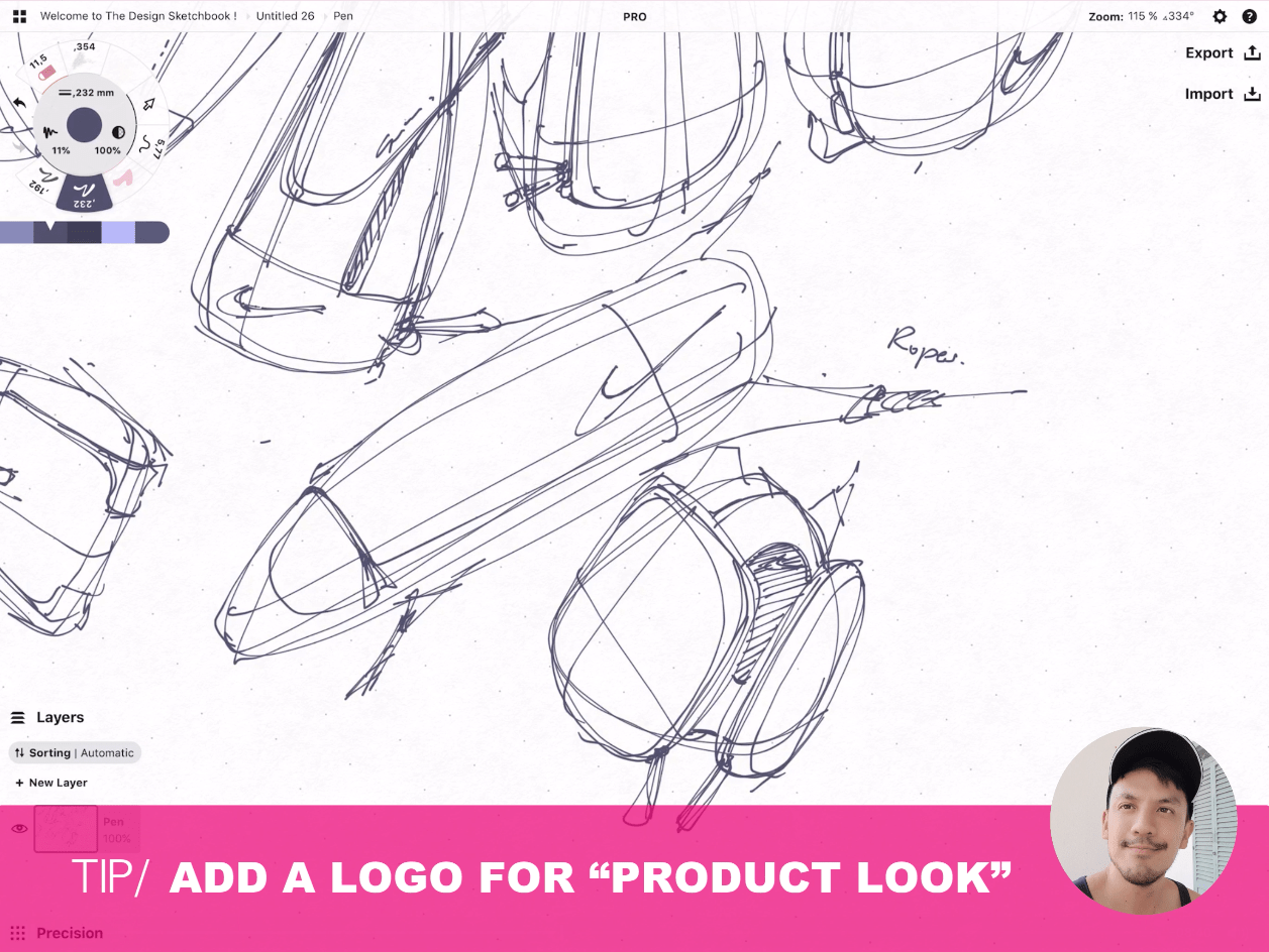 How to draw Creative random doodles of bags - Product design sketching - The Design Sketchbook Free video tutorial guide a26