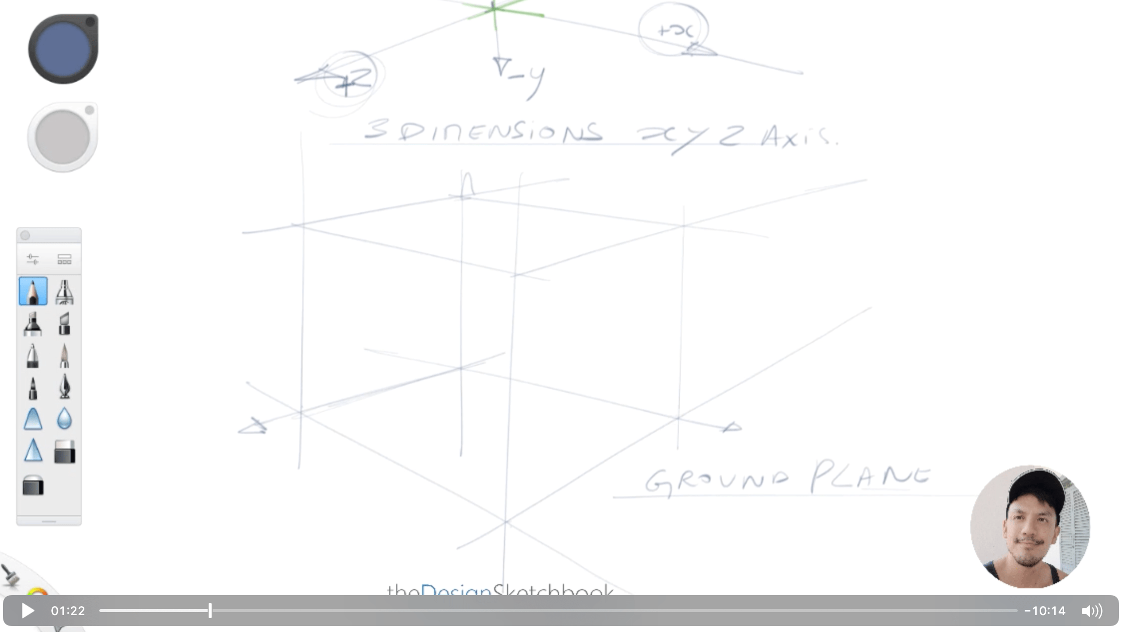 How to draw a cube for product designer the easy and fast way the design sketchbook chung chou tac h