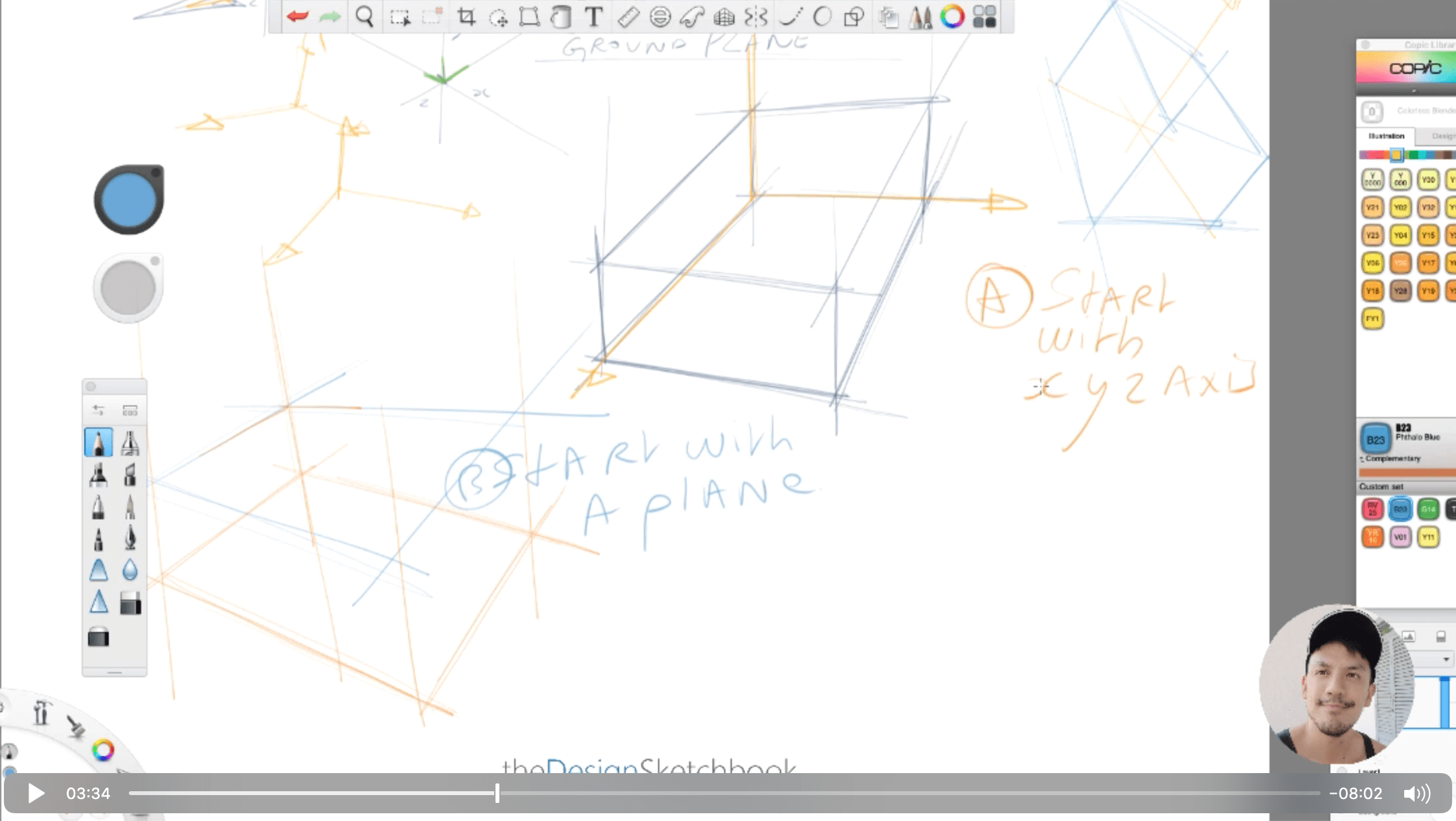 How to draw a cube for product designer the easy and fast way the design sketchbook chung chou tac k
