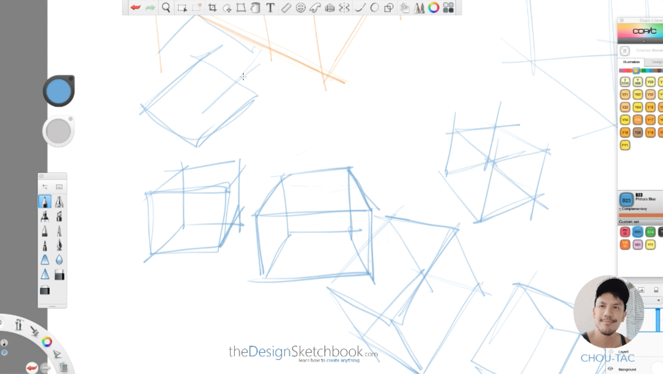 How to draw a cube for product designer the easy and fast way the design sketchbook chung chou tac l