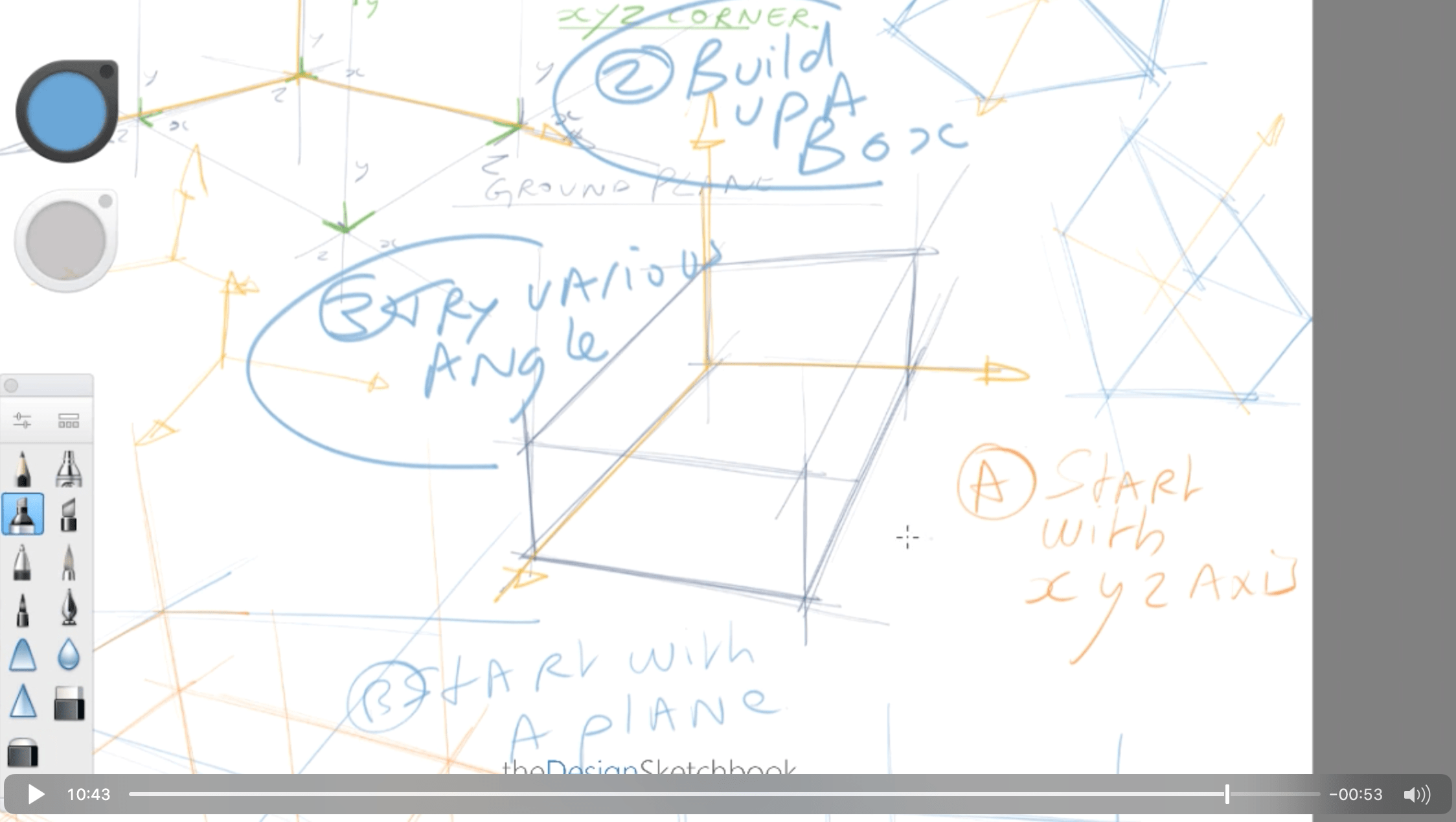 How to draw a cube for product designer the easy and fast way the design sketchbook chung chou tac q